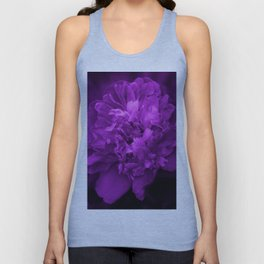 Peony In Ultra Violet Color #decor #society6 #buyart Unisex Tank Top