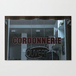 Cordonnerie Canvas Print