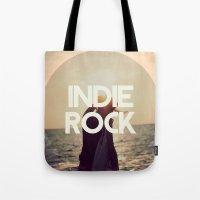 indie Tote Bags featuring Indie Rock by El Rock Es Cultura