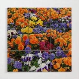 Pancy Flower 2 Wood Wall Art