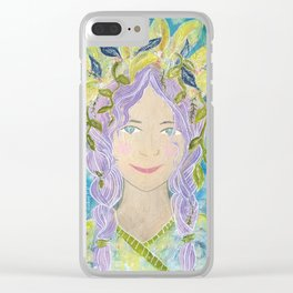 Mermaid Reborn Clear iPhone Case