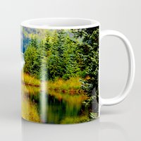 alaska Mugs featuring Alaska by KL Design Solutions
