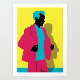 Menswear No:2 Art Print