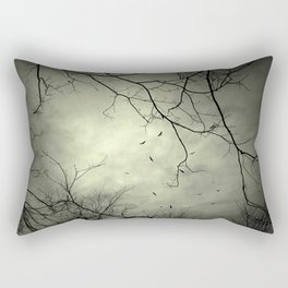 Spooky Kettle of Turkey Vultures Rectangular Pillow