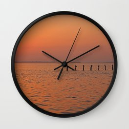 Keep the Lights On Wall Clock