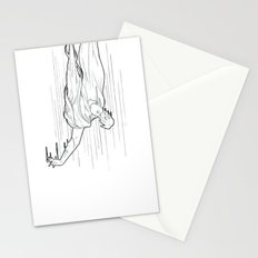 Nightmare falling Stationery Cards
