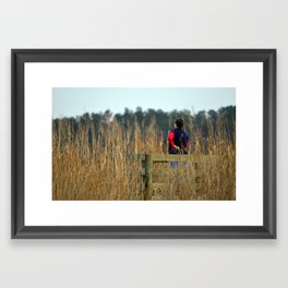 Ragged Island Park - Mom Framed Art Print