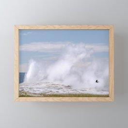 Old Faithful Fly By Framed Mini Art Print