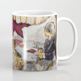 Edouard Vuillard - Women Sewing - Digital Remastered Edition Coffee Mug