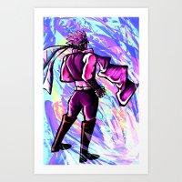jojo Art Prints featuring JoJo by zeekayart