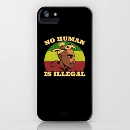 Black Lives Matter We Want To Breathe iPhone Case