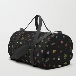 Nocturnal Floral Duffle Bag