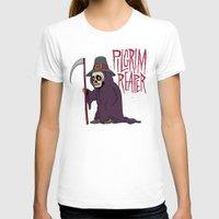 scott pilgrim T-shirts featuring PilGrim Reaper by Chris Piascik