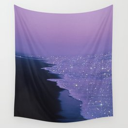 Purple magic Wall Tapestry