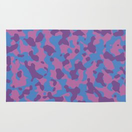 Girly Girl Camouflage Rug