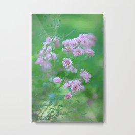 Tiny Pink Expressions Metal Print