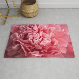 Peony Photography   Hot Pink Flower   Floral Art Print   Nature   Botany   Plant Rug