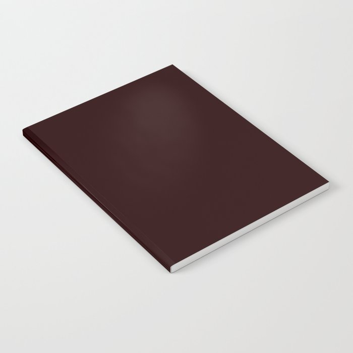 Delirious Place ~ Dark Red-brown Notebook