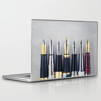 write Laptop & iPad Skins featuring Wready to Write by Colleen Farrell