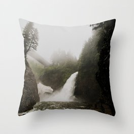 Snoqualmie Falls WA Throw Pillow
