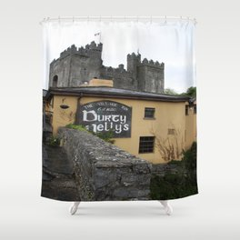 Durty Nellys And Bunraty Castle Shower Curtain