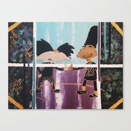  HEY! Arnold: Dope Streetz  Canvas Print