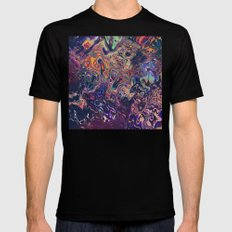 AURADESCENT MEDIUM Black Mens Fitted Tee