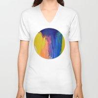 the strokes V-neck T-shirts featuring Strokes by Tony Vazquez
