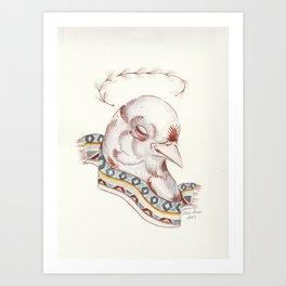 Pájaro Santo Art Print