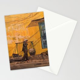 Hanoi Hawker Stationery Cards
