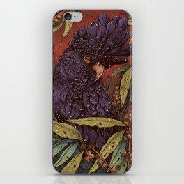 Black Cockatoo iPhone Skin