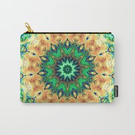 Turtle Kaleidoscope Carry-All Pouch