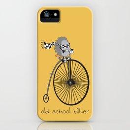 old school biker iPhone Case