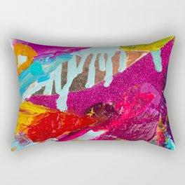 Abstract from Krewe de Femmes collection Rectangular Pillow
