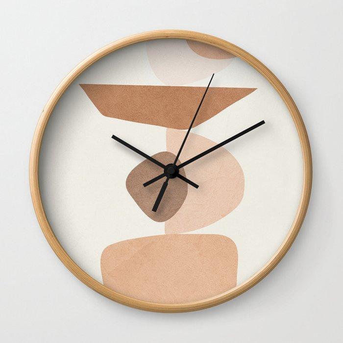 Balancing Elements II Wall Clock