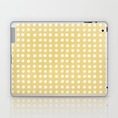 Orange Polka Pattern Laptop & iPad Skin