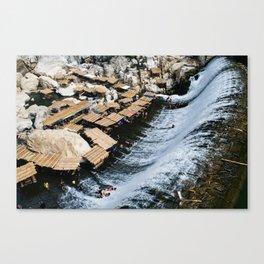 Wawa Dam Canvas Print