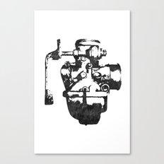 Lost carburetor #1 Canvas Print