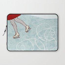 Ice Skating Laptop Sleeve