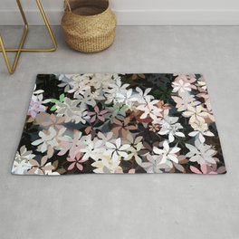Country Breeze Flower Garden Rug