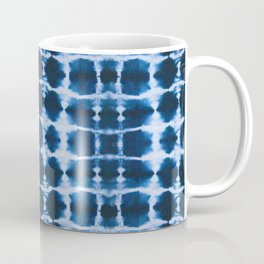 Blue Shibori Coffee Mug