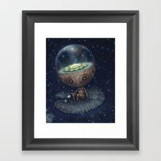 Zen Bot Framed Art Print