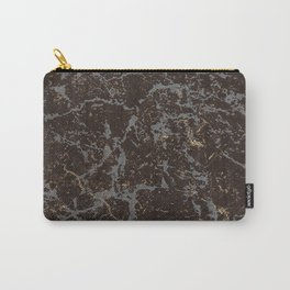 Crystallized gold stone texture Carry-All Pouch