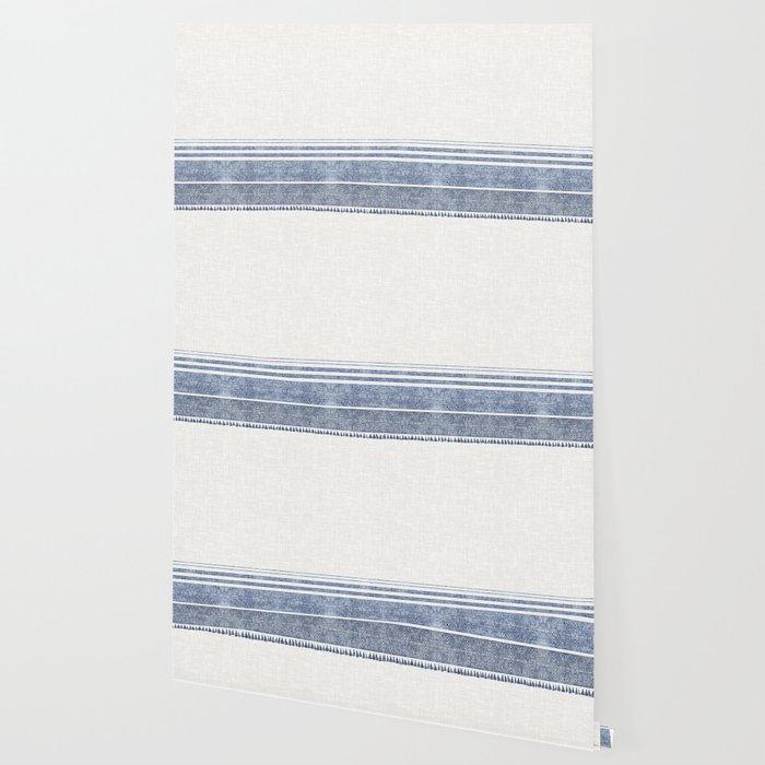 FRENCH LINEN CHAMBRAY TASSEL Wallpaper