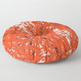 An Orange Nation Floor Pillow
