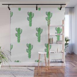 Saguaro Love II PATTERN Wall Mural