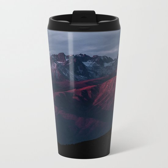 Mountain Landscape #sunset Metal Travel Mug