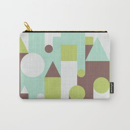 Abstract Pattern Background Carry-All Pouch