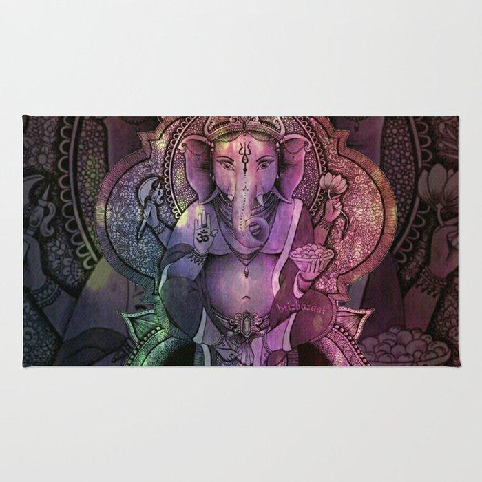 Ganesha Color Rug