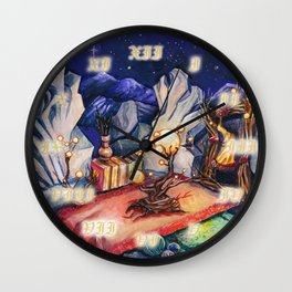 My peaceful place clock Wall Clock